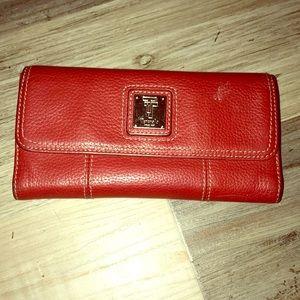 Tignanello Bags - Tignanello leather wallet